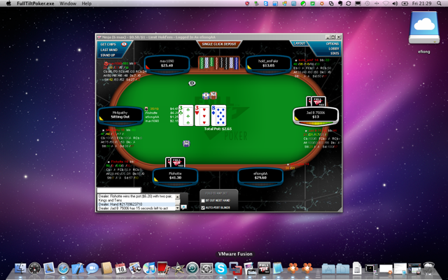 full tilt poker macbook