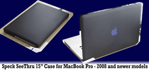 Speck macbook pro SeeThru case
