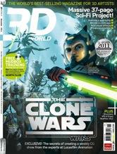 3D World magazine November cover