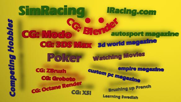 CG: Blender – setting properties on multiple objects | Oba's SandBox