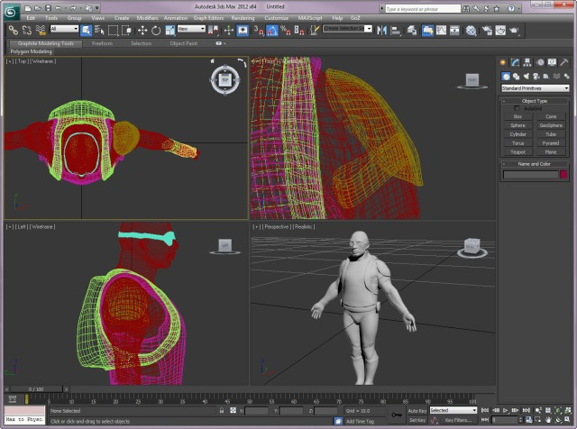 Cg zbrush todays scraps demo soldier transpose tool for Mirror zbrush
