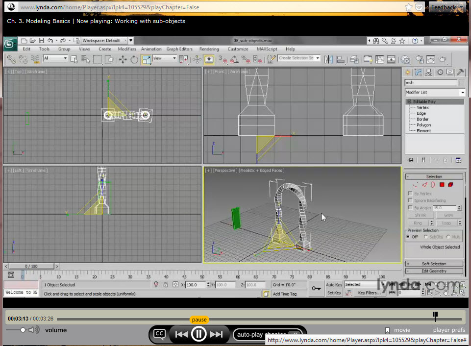 Dusting off the drawing board oba 39 s sandbox for 3ds max course